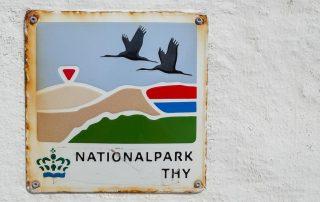 Nationalpark Thy in Dänemark - das Wappen des Nationalparks